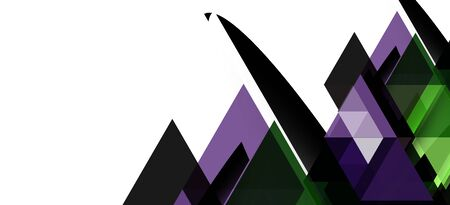 Abstract concept triangle graphic element. Technology background. Banner, poster template. Art vector background futuristic design.
