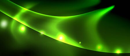 Glowing shiny light abstract background, vector template