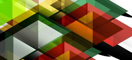 Abstract triangle pattern, colorful backdrop. Presentation template. Modern textured shape. Trendy modern style