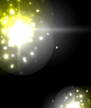 Luz de neón que brilla intensamente. Decoración navideña.