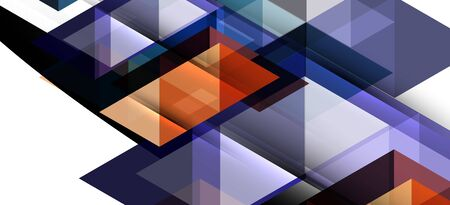 Abstract concept triangle graphic element. Technology background. Banner, poster template
