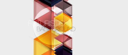 Hexagon abstract background, geometrical modern template, vector business presentation wallpaper design 向量圖像