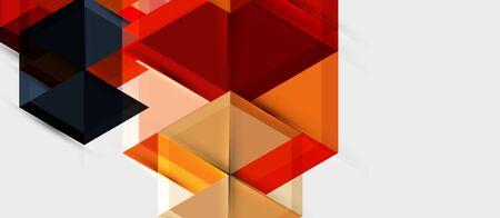 Hexagon abstract background, geometrical modern template 向量圖像