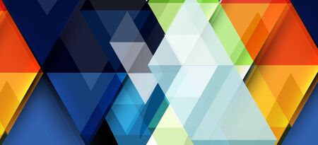 Modern mosaic triangle template background, great design for any purposes. Abstract geometric graphic design triangle pattern. Geometric line pattern.