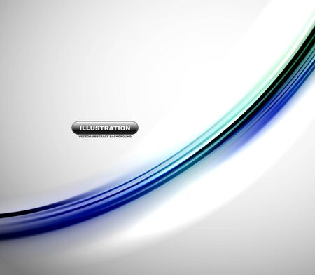 Blurred wave line design background