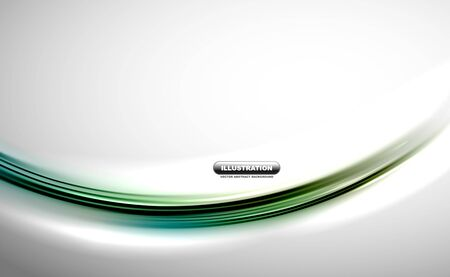 Blurred wave line design background