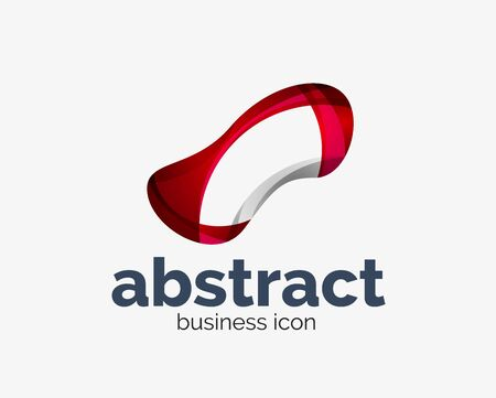 Abstract flowing   business branding line Banque d'images - 134859445