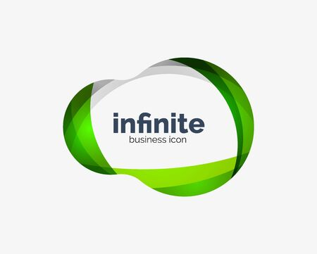 Infinite abstract business icon