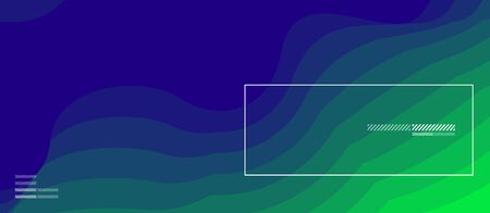 Dynamic fluid neon color wave geometric abstract background. Trendy poster colorful gradients and fluid shapes. For banner, invitation, card, web, ad and promotion. Standard-Bild - 133248494