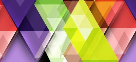 Abstract concept triangle graphic element. Technology background. Banner, poster template. Art vector background futuristic design. Illustration