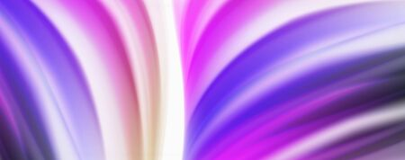 Glossy colorful liquid waves abstract background,, modern techno lines Illusztráció