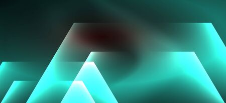 Neon shiny color lines background. Abstract colorful web template Geometric modern technology concept. Vector abstract background banner design. Illustration