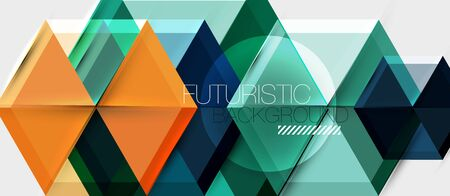 Hexagon abstract background, geometrical modern template Illusztráció
