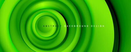 Vector 3d style abstract swirl circles, modern techno digital trendy abstract background. Vector Illustration For Wallpaper, Banner, Background, Card, Book Illustration, landing page Illustration