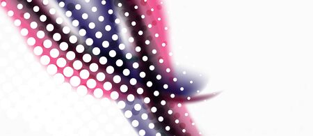 Line wave art illustration on light backdrop. Vector abstract design banner template. Business template. Abstract art background. Graphic element.