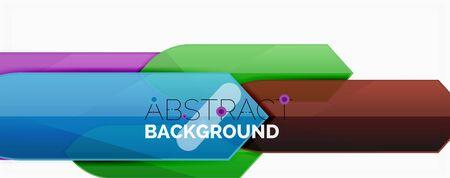 Minimal dynamic geometric background Ilustrace