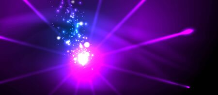 Fireworks dark night background for celebration design. Blue abstract background. Birthday party. Festive art background. Space background. Night party. Anniversary, birthday. Christmas eve. Illustration
