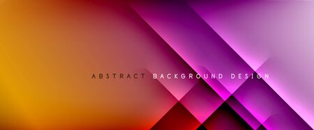 Straight lines with shadows and light on gradient background. Trendy simple fluid color gradient abstract background with dynamic straight shadow line effect. Vector Illustration For Wallpaper, Banner, Background, Card, Book Illustration, landing page