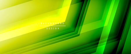 Arrow lines, technology digital template with shadows and lights on gradient background. Trendy simple fluid color gradient abstract background with dynamic straight shadow lines effect Zdjęcie Seryjne - 138008302
