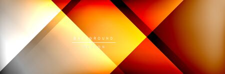 Abstract background - squares and lines composition created with lights and shadows. Technology or business digital template Stock fotó - 138388265