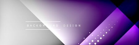 Abstract background - squares and lines composition created with lights and shadows. Technology or business digital template Stock fotó - 138388272