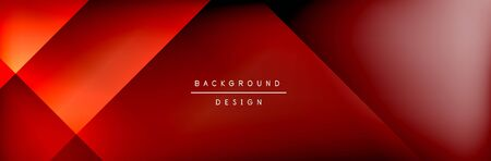 Abstract background - squares and lines composition created with lights and shadows. Technology or business digital template Фото со стока - 140906493