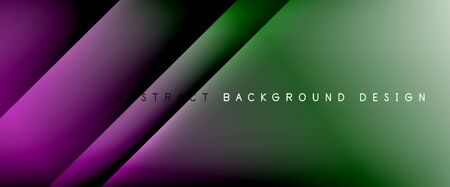 Trendy simple fluid color gradient abstract background with dynamic straight shadow line effect. Vector Illustration For Wallpaper, Banner, Background, Card, Book Illustration, landing page