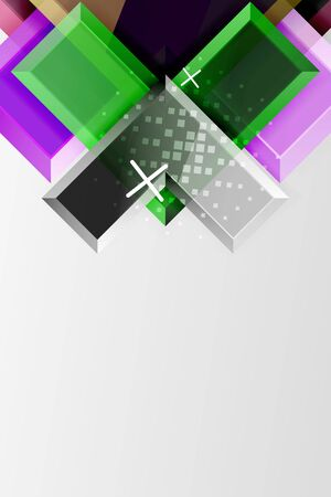Metal arrow shape background. Abstract geometric background with 3d effect composition For Wallpaper, Banner, Background, Card, Book Illustration, landing page