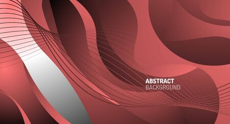 Wave pattern fluid gradients, abstract lines for Wallpaper, Banner, Background, Card, Book Illustration, landing page 向量圖像