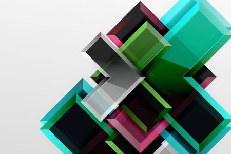Metal arrow shape background. Abstract geometric background with 3d effect composition For Wallpaper, Banner, Background, Card, Book Illustration, landing page 스톡 콘텐츠 - 146217450
