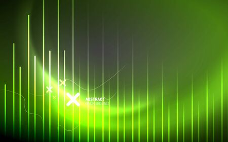Abstract background - neon line design for Wallpaper, Banner, Background, Card, Book Illustration, landing page