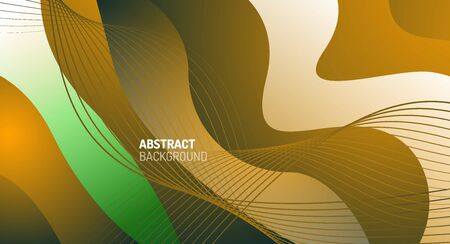 Wave pattern fluid gradients, abstract lines for Wallpaper, Banner, Background, Card, Book Illustration, landing page
