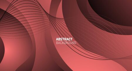 Wave pattern fluid gradients, abstract lines for Wallpaper, Banner, Background, Card, Book Illustration, landing page Banque d'images - 146805083