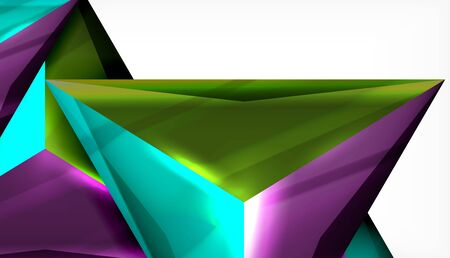 Triangle geometric vector abstract background 写真素材 - 147587915