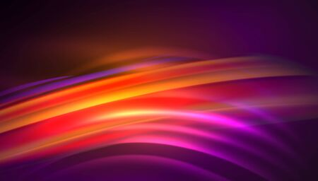 Creative fluid wave lines abstract background. Trendy abstract layout template for business or technology presentation, internet poster or web brochure cover, wallpaper 免版税图像 - 147755659