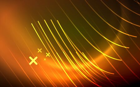 Abstract background - neon line design for Wallpaper, Banner, Background, Card, Book Illustration, landing page 矢量图像