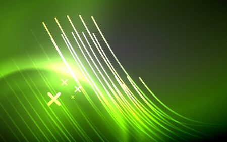 Abstract background - neon line design for Wallpaper, Banner, Background, Card, Book Illustration, landing page 免版税图像 - 147755580