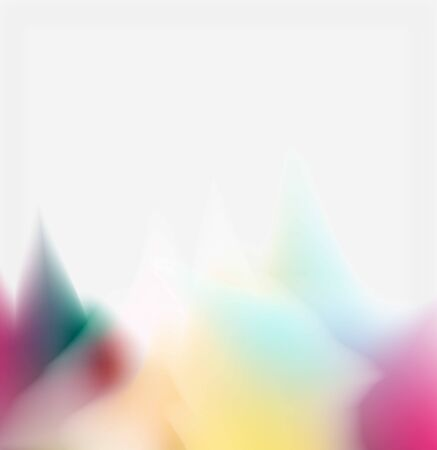 Liquid fluid color splashes abstract background, bright colorful shapes. Techno futuristic vector abstract background For Wallpaper, Banner, Background, Card, Book Illustration, landing page 免版税图像 - 147755507