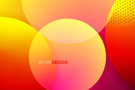 Abstract circles, modern background, neon bubbles motion techno design for Wallpaper, Banner, Background, Card, Book Illustration, landing page