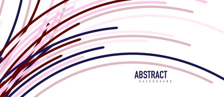 ?bstract moving colorful lines vector backgrounds for cover, placard, poster, banner or flyer Stock fotó - 150381927