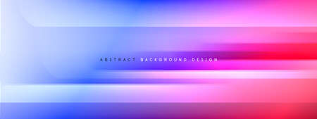 Motion concept neon shiny lines on liquid color gradients abstract backgrounds. Dynamic shadows and lights templates for text Banque d'images - 150756170