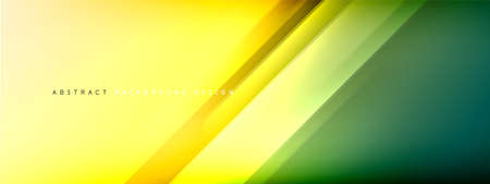 Motion concept neon shiny lines on liquid color gradients abstract backgrounds. Dynamic shadows and lights templates for text
