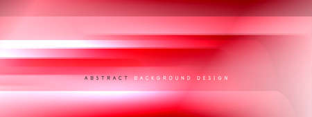 Motion concept neon shiny lines on liquid color gradients abstract backgrounds. Dynamic shadows and lights templates for text Stockfoto - 151068899