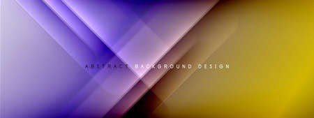 Motion concept neon shiny lines on liquid color gradients abstract backgrounds. Dynamic shadows and lights templates for text Stockfoto - 151069078