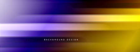 Motion concept neon shiny lines on liquid color gradients abstract backgrounds. Dynamic shadows and lights templates for text Stockfoto - 151069079
