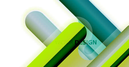 Abstract liquid lines geometric background