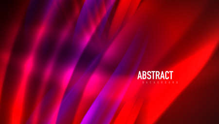 Fluid wave lines background. Trendy abstract layout template for business or technology presentation, internet poster or web brochure cover, wallpaper 向量圖像