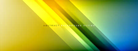 Motion concept neon shiny lines on liquid color gradients abstract backgrounds. Dynamic shadows and lights templates for text 免版税图像 - 151148913