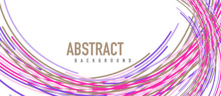 �bstract moving colorful lines vector backgrounds for cover, placard, poster, banner or flyer