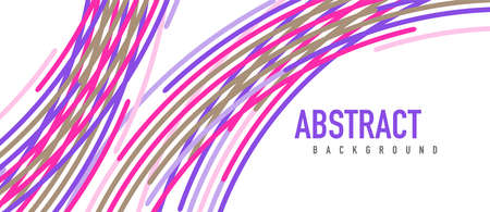 Аbstract moving colorful lines vector backgrounds for cover, placard, poster, banner or flyer  イラスト・ベクター素材